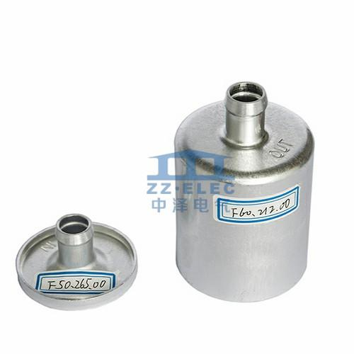 Natural gas fuel filter cover & housing