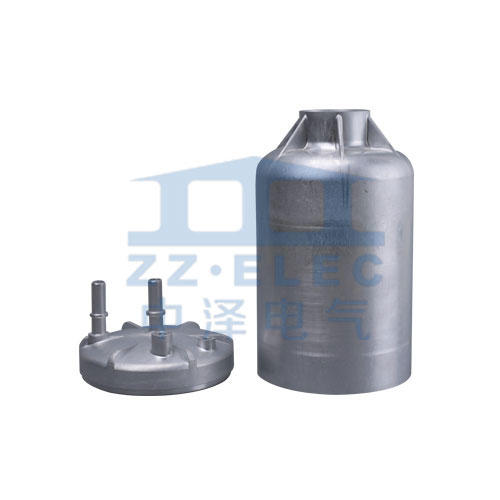 Fuel filter aluminum shell aluminum cover